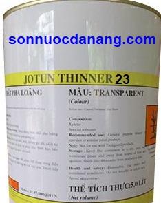 Dung môi pha sơn Jotun Thinner No. 23